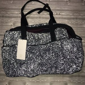 NWT lululemon all day duffel splatter reflective